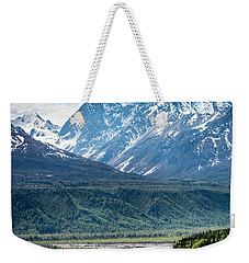 Matanuska River  Weekender Tote Bag