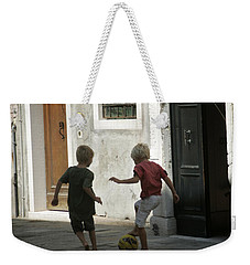 Match Of The Day Weekender Tote Bag