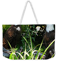 Weekender Tote Bag featuring the photograph Mates by Greg Patzer