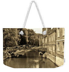 Mathematical Bridge Weekender Tote Bag