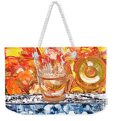 Matinal Weekender Tote Bag by Evelina Popilian