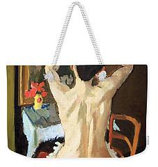Matisse's La Coiffure Weekender Tote Bag by Cora Wandel