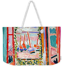 Matisse's Open Window At Collioure Weekender Tote Bag