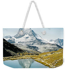 Matterhorn Cervin Reflection Weekender Tote Bag