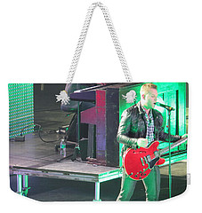 Matthew West At Winterjam Weekender Tote Bag by Aaron Martens