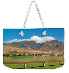 Maui Hawaii Mountains Near Kaanapali   Weekender Tote Bag