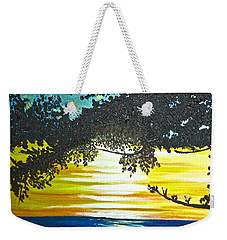Maui Sunset Weekender Tote Bag by Donna Blossom