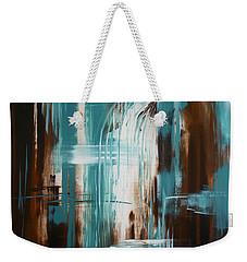 Waterfall In Paradise Weekender Tote Bag