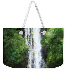Maui Waterfall Weekender Tote Bag