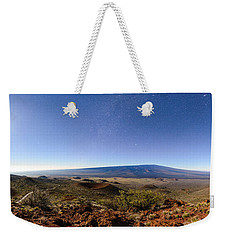 Mauna Loa Moonlight Panorama Weekender Tote Bag