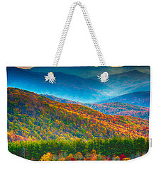 Max Patch Bald Fall Colors Weekender Tote Bag