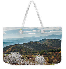 Weekender Tote Bag featuring the photograph Max Patch In Appalachian Mountains by Debbie Green