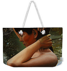 May Morning Arkansas River 3 Weekender Tote Bag
