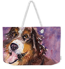 May The Mountain Dog Weekender Tote Bag