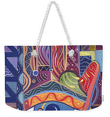 May You Realize Your Dreams Weekender Tote Bag by Helena Tiainen