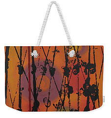 Weekender Tote Bag featuring the painting Maya 1 by Mini Arora
