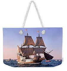 Mayflower II On Her 50th Anniversary Sail Weekender Tote Bag
