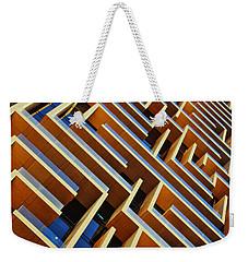 Maze Building Dubai Weekender Tote Bag
