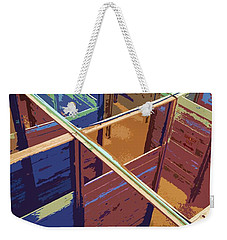 Labirinto Weekender Tote Bag by Julio Lopez