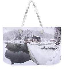 Mcconnell's Mill Winter  Weekender Tote Bag