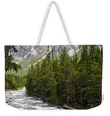 Mcdonald Creek In Glacier Np-mt Weekender Tote Bag