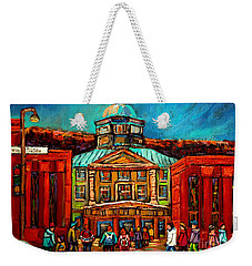 Mcgill Gates Montreal Weekender Tote Bag