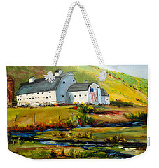 Mcpolin Park City Utah Barn Weekender Tote Bag