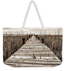 Mcteer Dock - Sepia Weekender Tote Bag