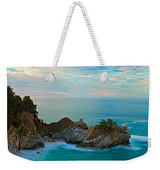 Mcway Falls At Sunrise Weekender Tote Bag