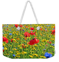 Meadow Flora Weekender Tote Bag
