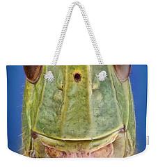 Meadow Grasshopper Weekender Tote Bag by Matthias Lenke