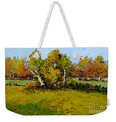 Meadow In Autumn Weekender Tote Bag