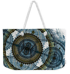 Mechanical Circles Weekender Tote Bag