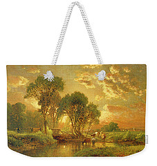 Medfield Massachusetts Weekender Tote Bag by Inness