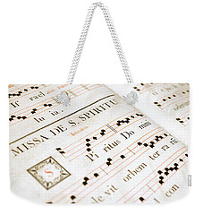 Mediavel Chorus Book  Weekender Tote Bag