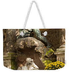 Medici Fountain - Paris Weekender Tote Bag by Brian Jannsen