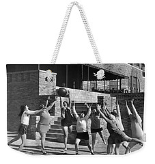 Medicine Ball Exercise Weekender Tote Bag