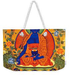 Medicine Buddha Weekender Tote Bag