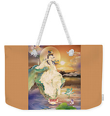 Medicine-giving Kuan Yin Weekender Tote Bag