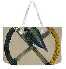 Medicine Wheel Weekender Tote Bag by J W Baker