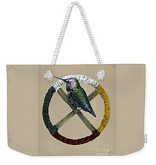 Medicine Wheel Weekender Tote Bag