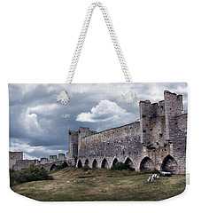 Medieval City Wall Defence Weekender Tote Bag