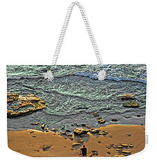 Weekender Tote Bag featuring the photograph Meditation by Ron Shoshani