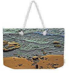 Meditation Weekender Tote Bag by Ron Shoshani