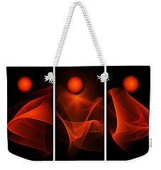Meditations Weekender Tote Bag by Klara Acel