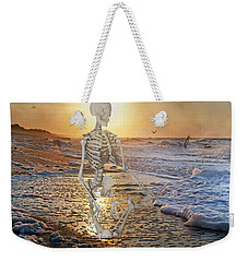 Meditative Morning Weekender Tote Bag by Betsy Knapp