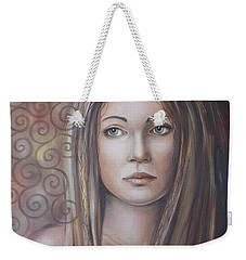 Melancholy 080808 Weekender Tote Bag by Selena Boron