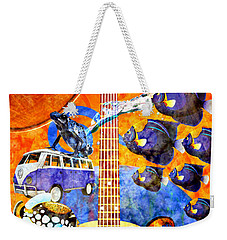 Melodies And Sunset Seas Weekender Tote Bag