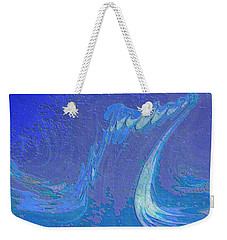 Weekender Tote Bag featuring the painting Melody by Mike Breau