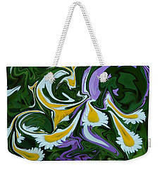 Melting Daisies Weekender Tote Bag by Aimee L Maher Photography and Art Visit ALMGallerydotcom